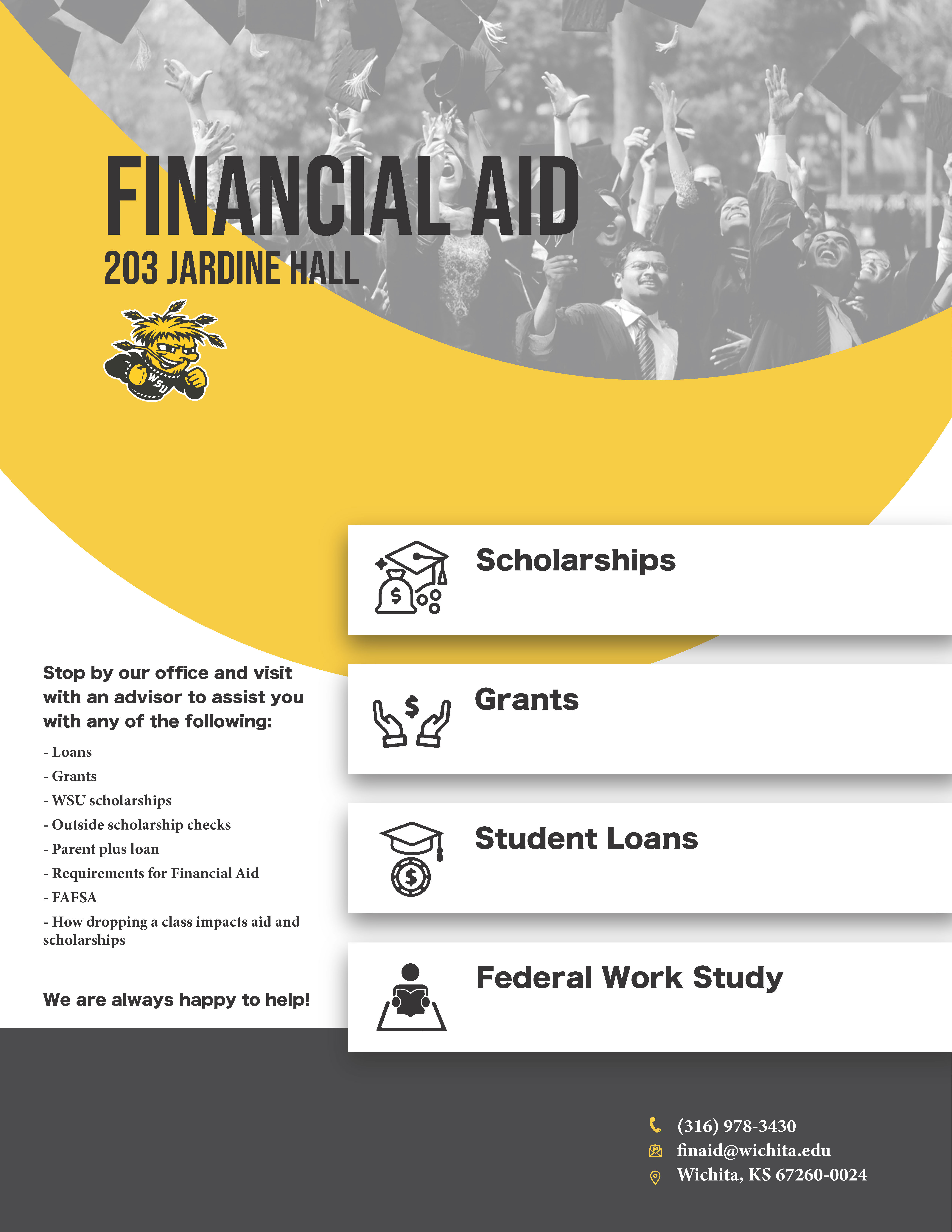 Who to Contact - Financial Aid