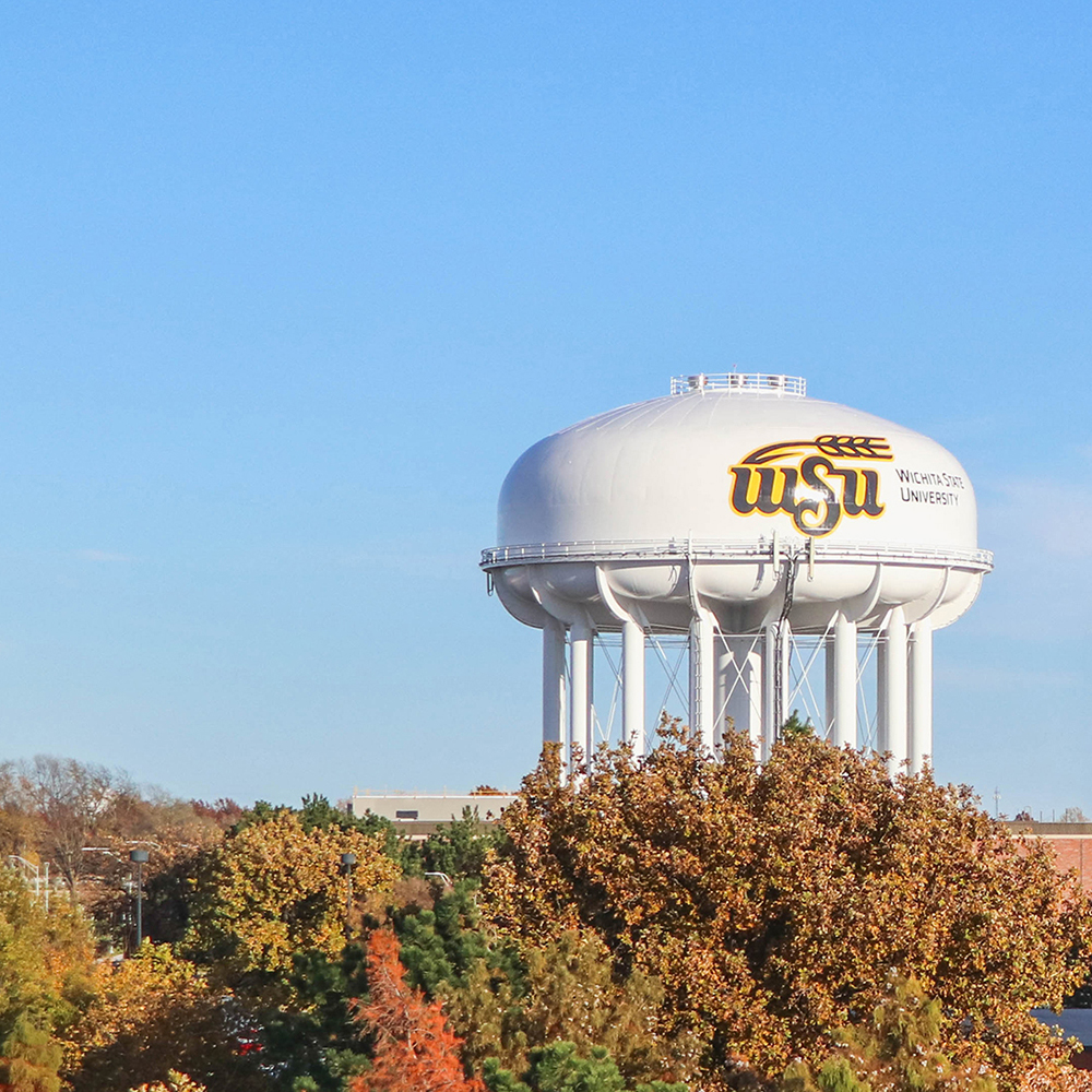 Wichita State water tower