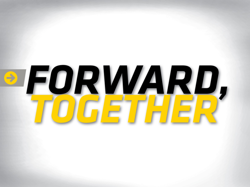 Forward, Together graphic
