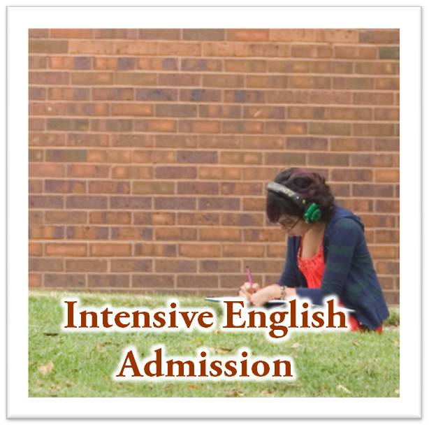 Intensive English Admission