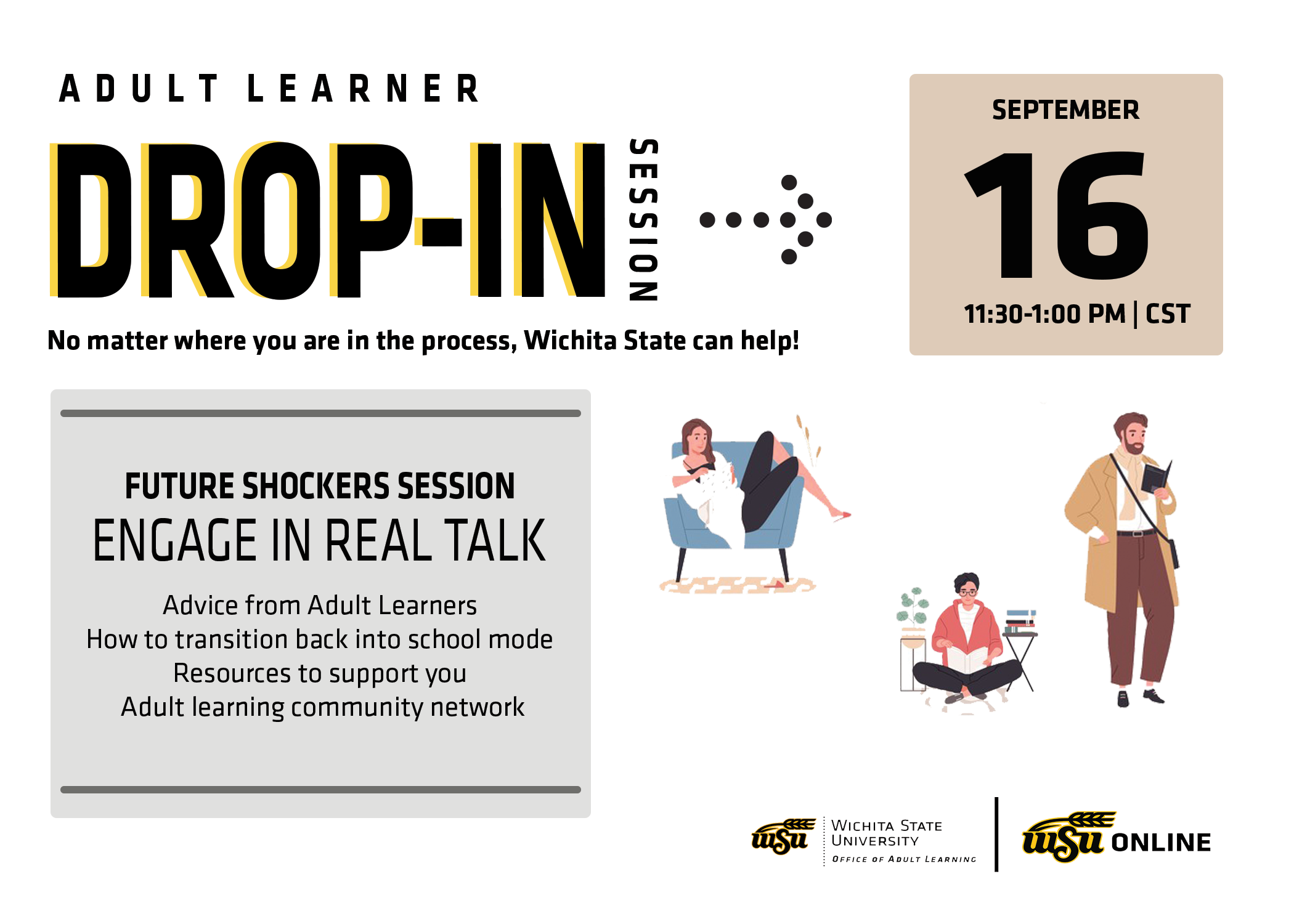 Adult Learing Drop-In Sessions