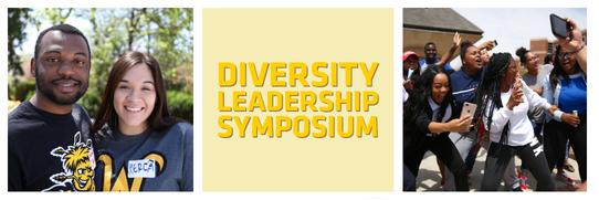 People enjoying diversity leadership symposium