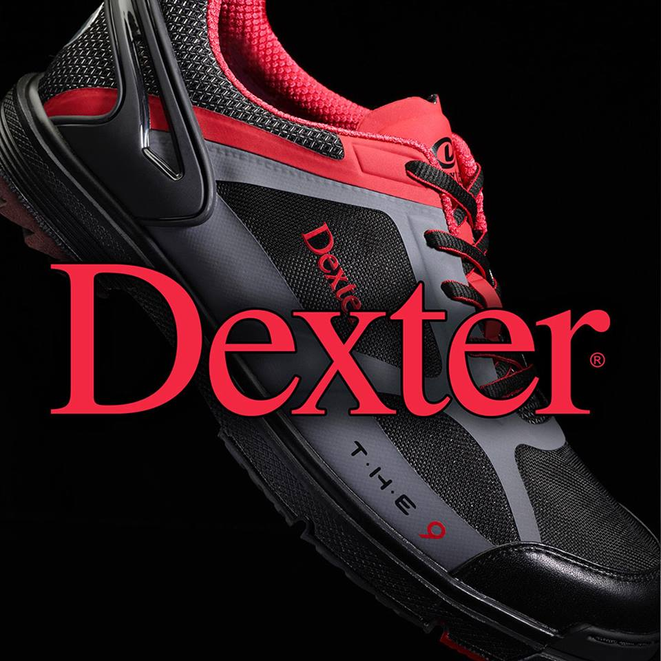 Dexter Bowling Shoes Logo