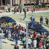John Bardo funeral procession aerial crowd