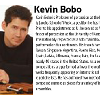 A photo and bio of kevin bobo