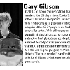 A photo and bio of gary gibson