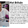 A photo and bio of mat britain