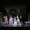 Bartolo, Cherubino, Barbarina, Rosina, Almaviva, Basilio, Don Curzio, Susanna, and Figaro