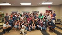 Group picture from the Ice Cream Social 2019