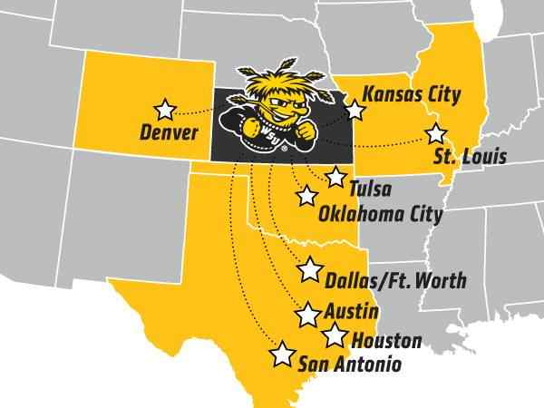 Shocker City Partnership map