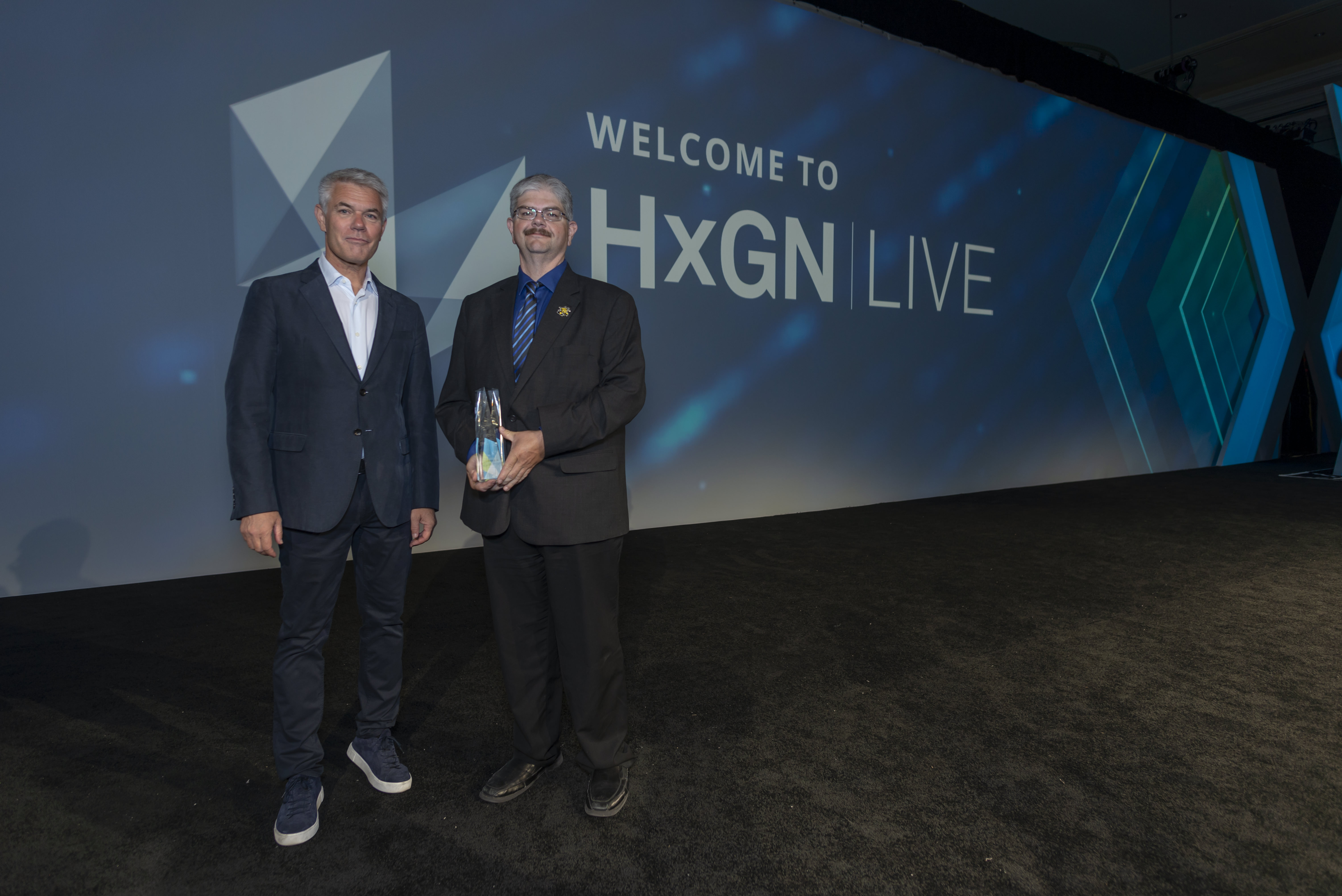 Brian Brown at Hexagon LIVE event