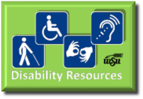 Disability Resources Button