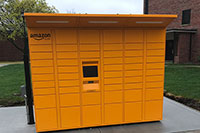 Amazon locker on campus