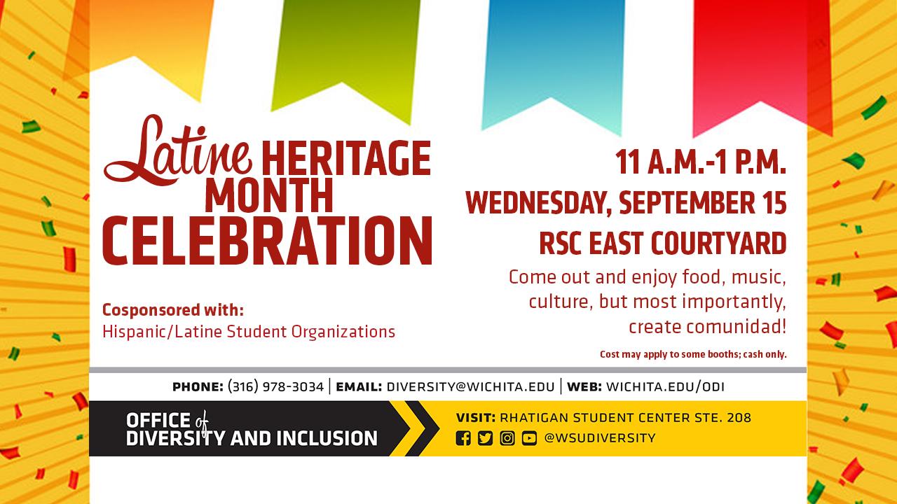 Latine Heritage Month Celebration
