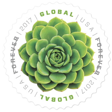 image of first class international stamp