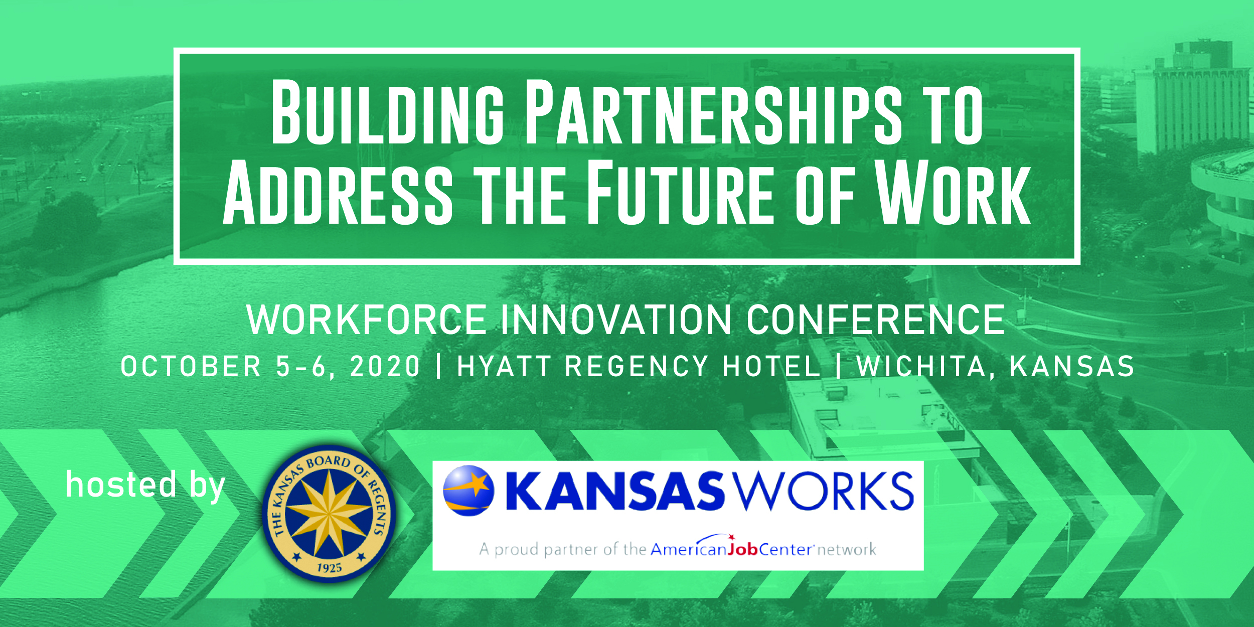 Workforce Conference Banner 2020 with dates and location
