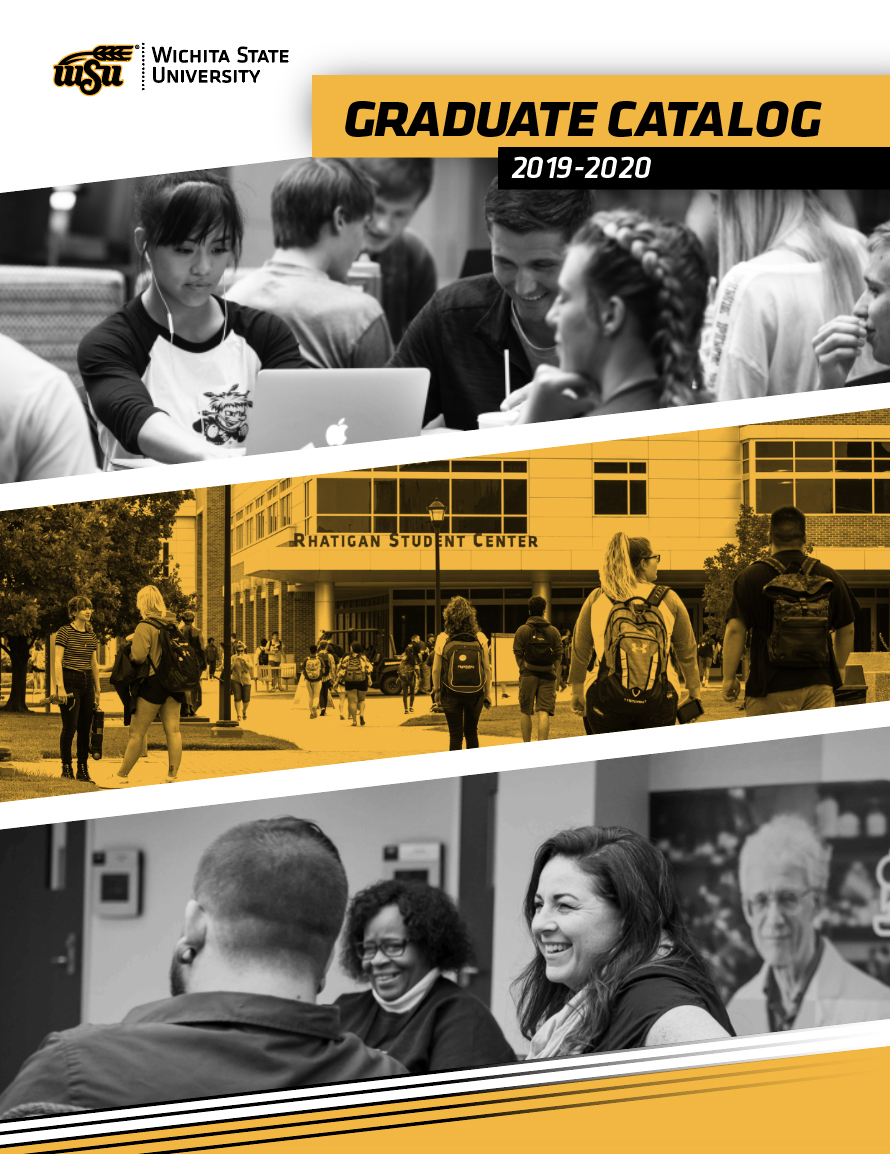 Image of cover of 2019-2020 Graduate Catalog