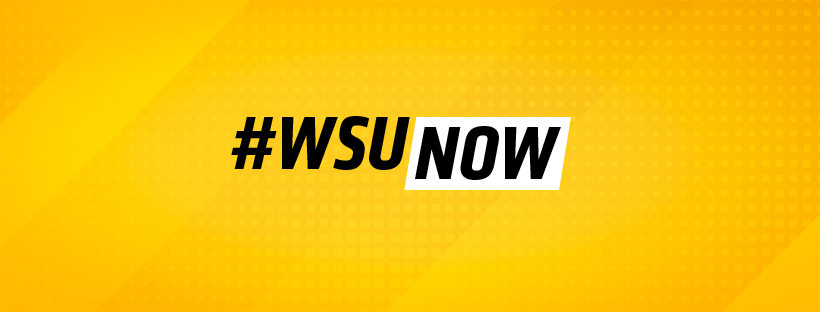 WSUNOW: bold yellow facebook cover.