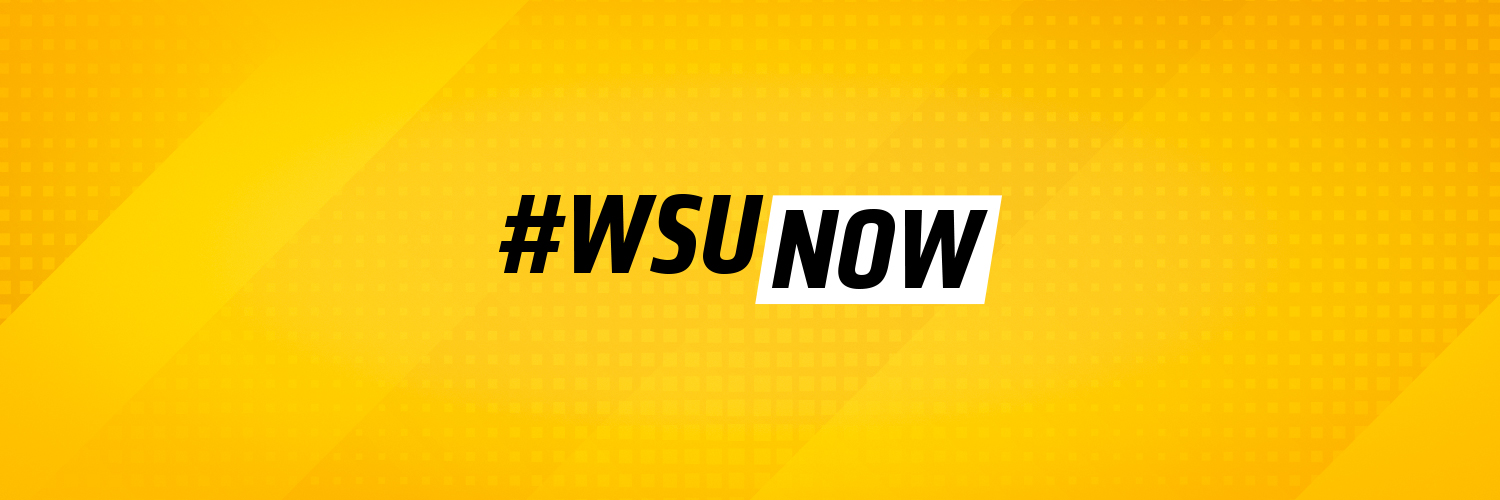 WSUNOW: bold yellow twitter cover.
