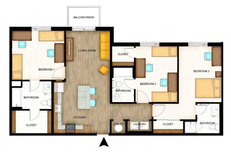 Flats Floorplans