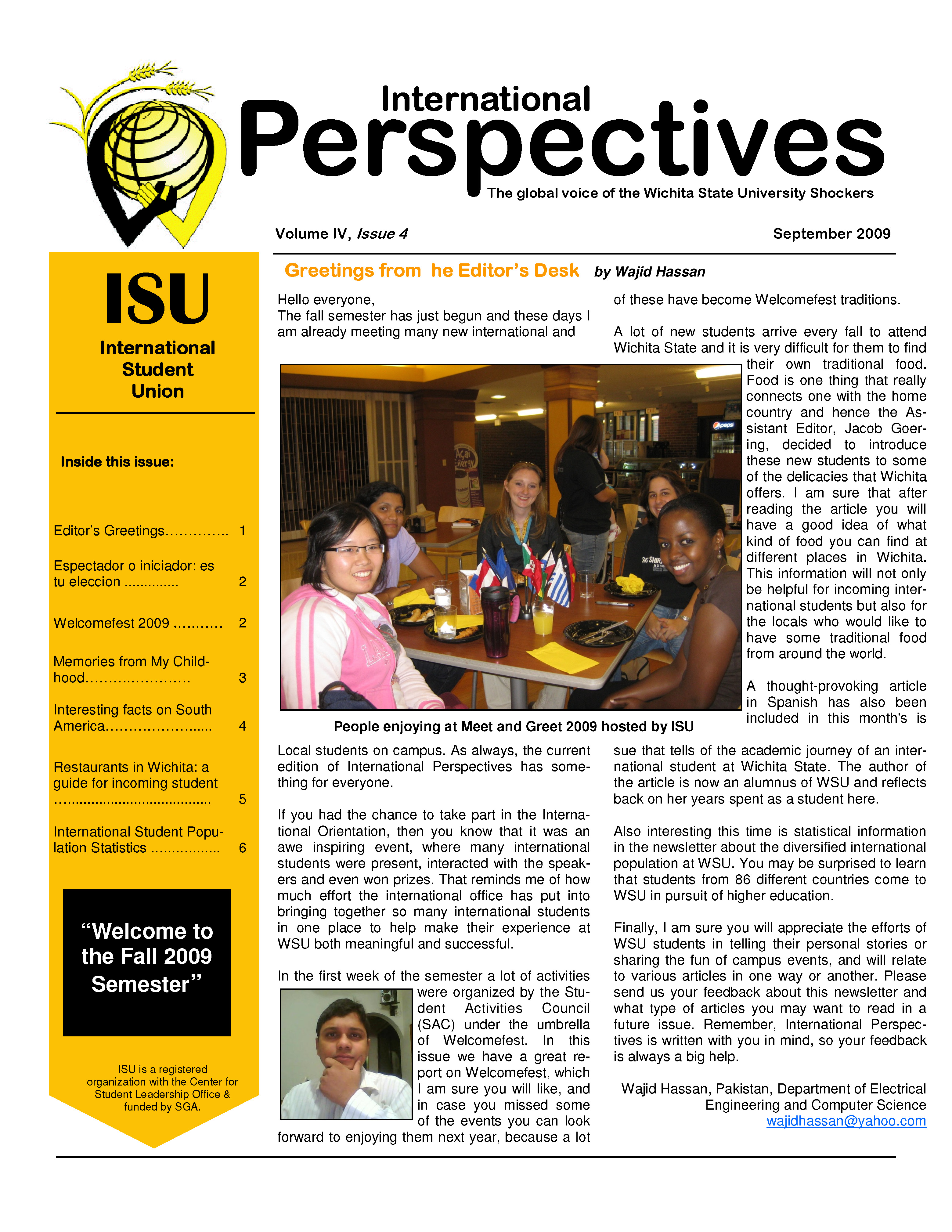 September 2009 Issue